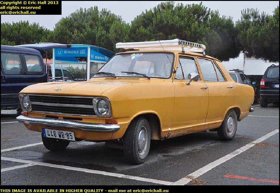 old opel kadett B 1970 ile d'yeu bay of biscay france