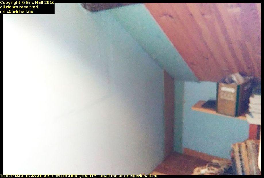 plasterboard corner attic les guis virlet puy de dome france
