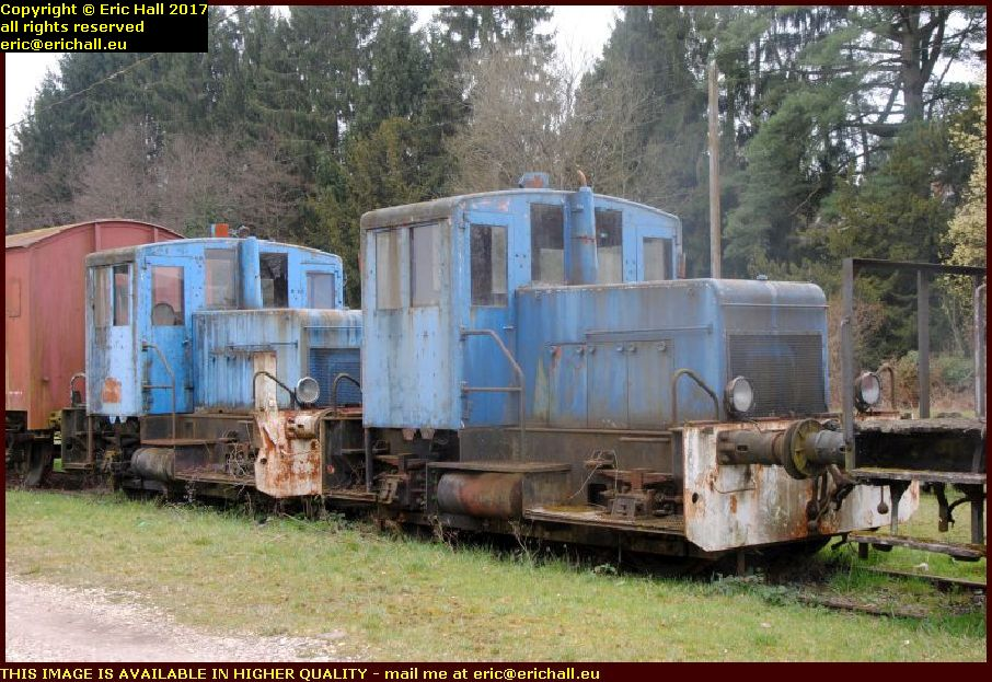 yard shunters baudet donon roussel railway museum toucy yonne france