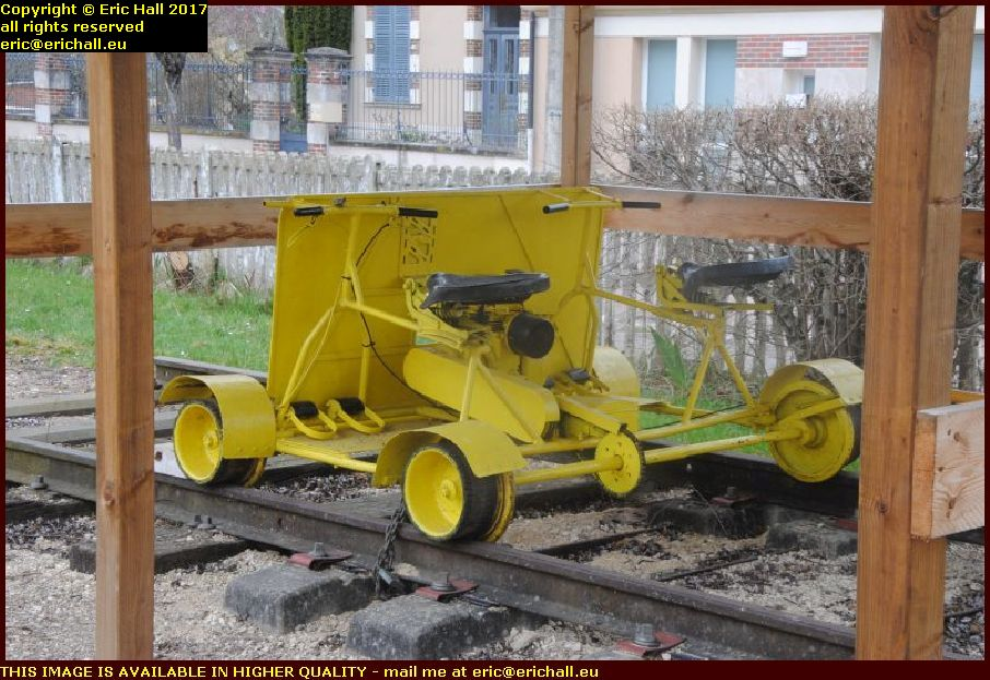 railway tourism bicycles museum toucy yonne france