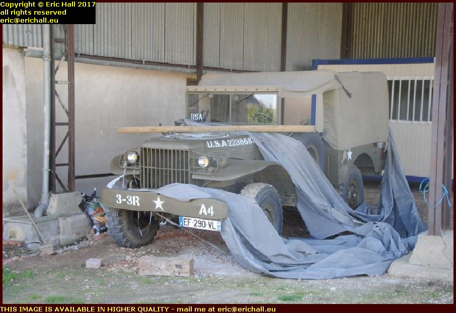 US Army 1944 Dodge lorry hotel des gatines cosne cours sur loire nievre france