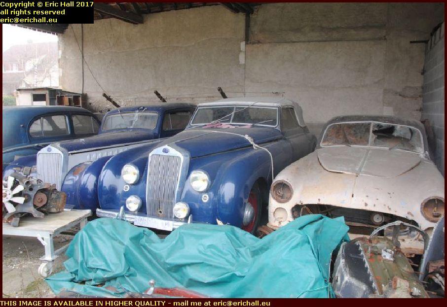 delage old cars cosne cours sur loire nievre france
