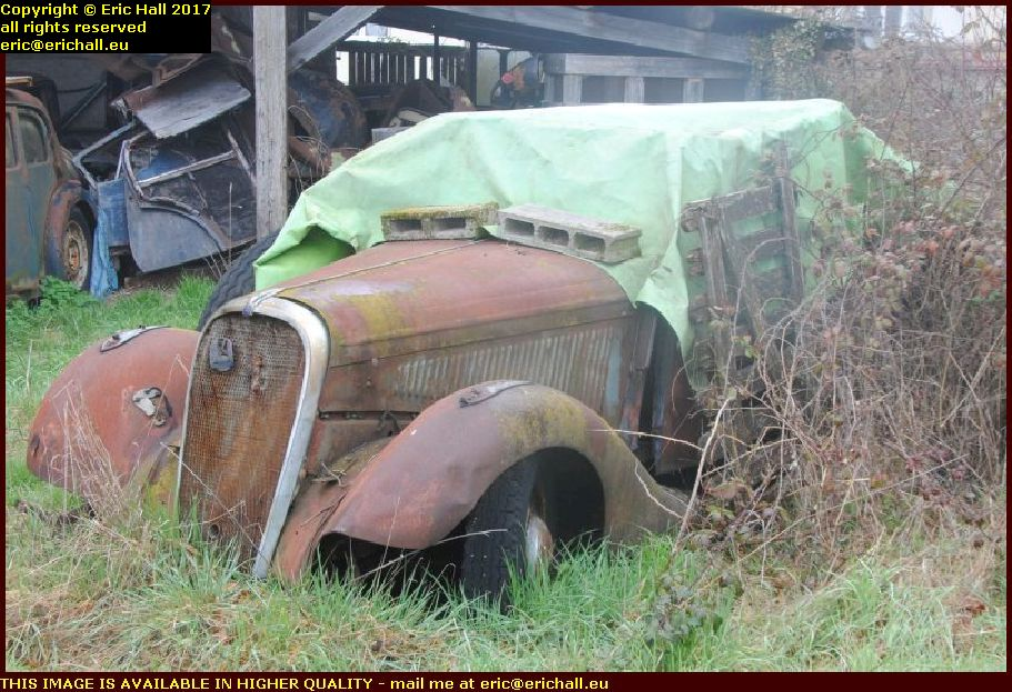 old cars cosne cours sur loire nievre france