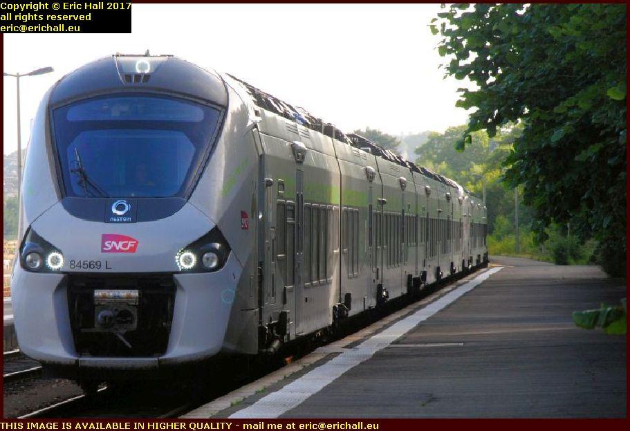 multiple unit SNCF gare de granville manche normandy france