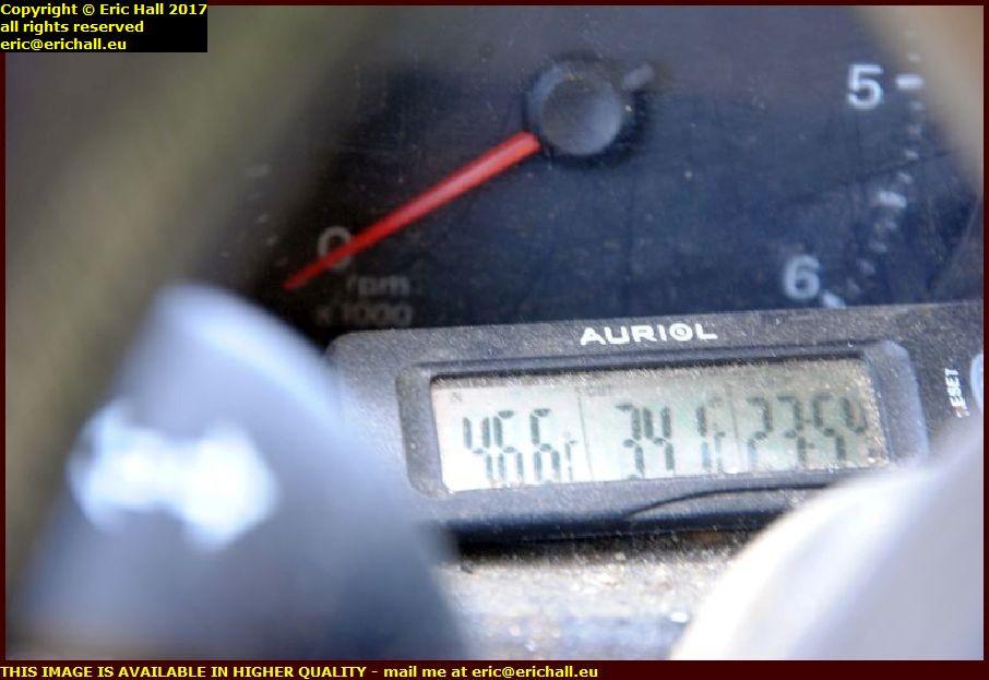 record temperature granville manche normandy france