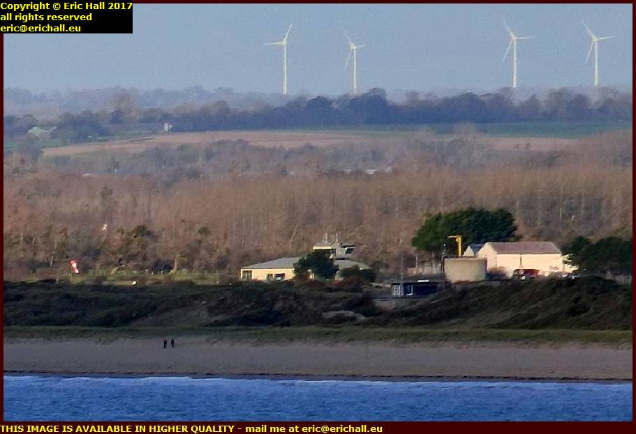 wind farm cerences granville manche normandy france