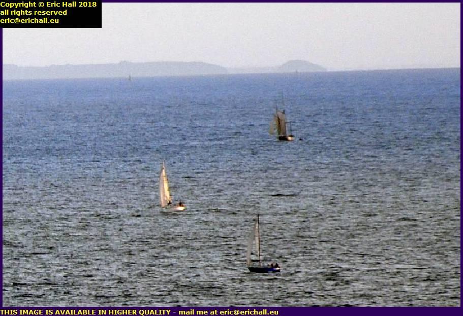 yachts baie de mont st michel st malo granville manche normandy france