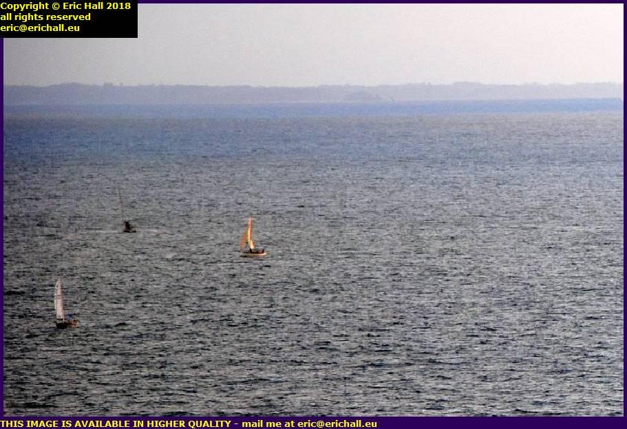 yachts baie de mont st michel cancale brittany granville manche normandy france