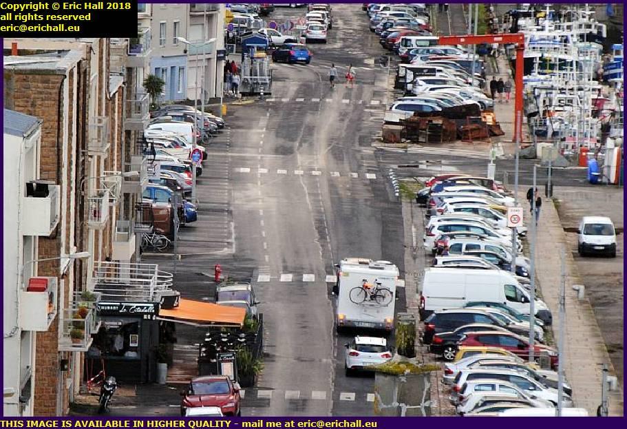 rue du port granville manche normandy france