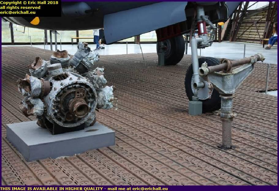 mitchell marauder b-26 engine undercarriage museum utah beach normandy france