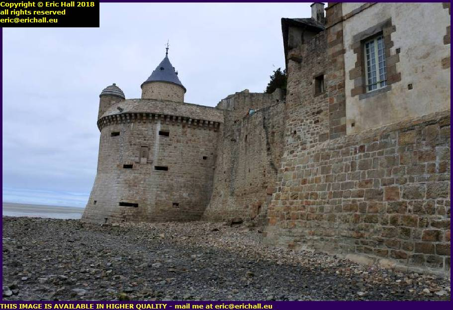 brittany gate mont st michel manche normandy france