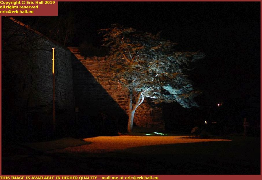 trees night place maurice marland granville manche normandy france