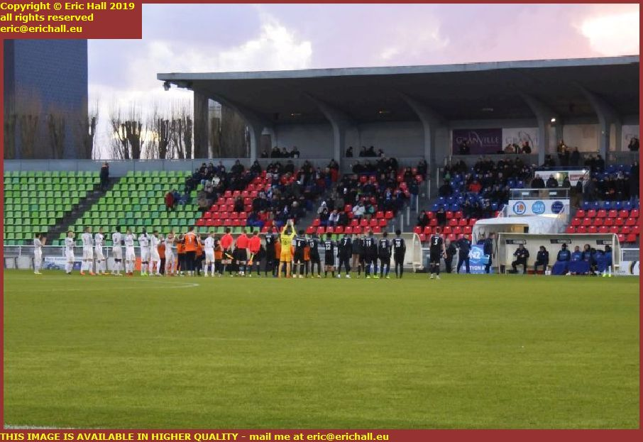 football us grnavillaise cms oissel stade louis dior granville manche normandy france