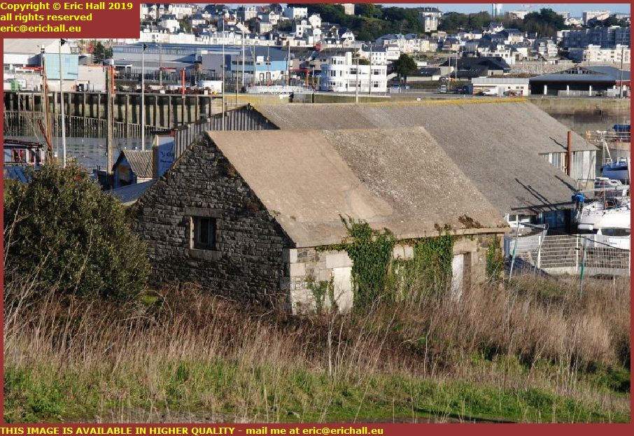 old military buildings pointe du roc granville manche normandy france