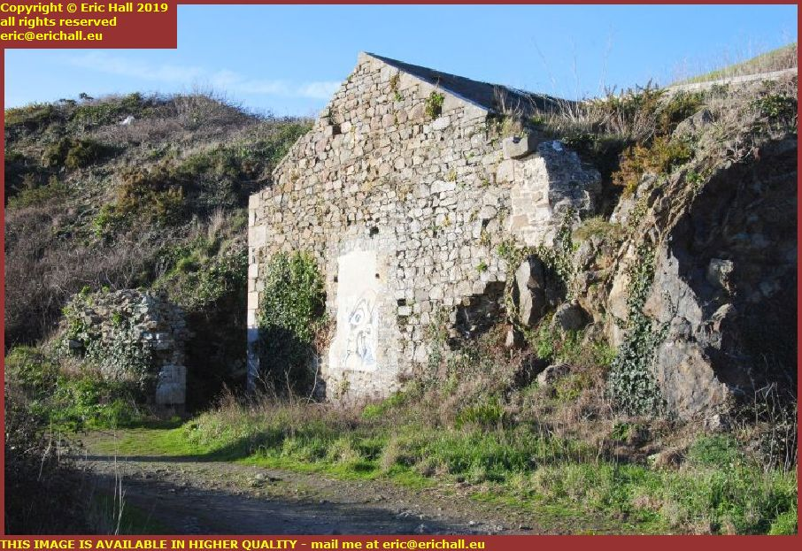 old military buildings granville manche normandy france