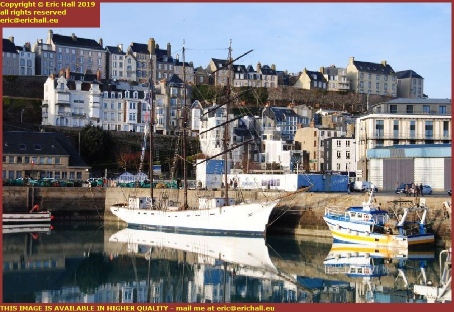 marite port de granville harbour granville manche normandy france