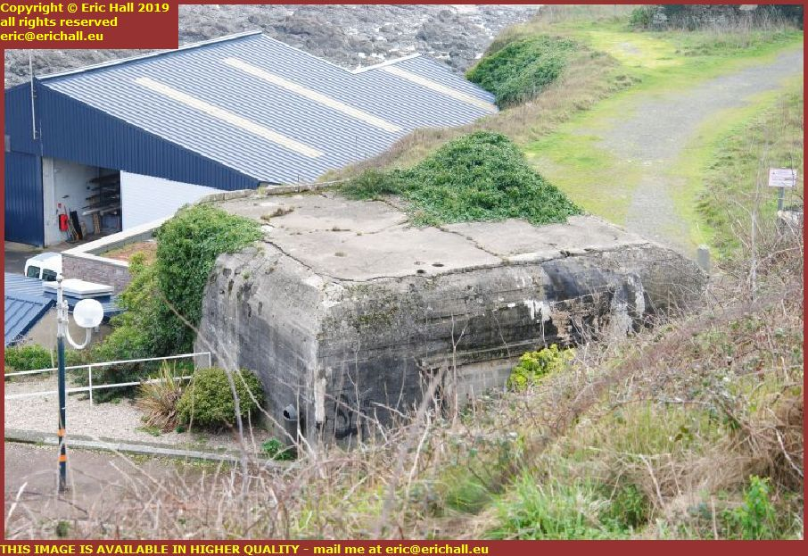 atlantic wall world war 2 bunker granville manche normandy france