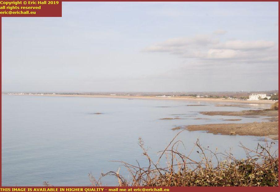beach donville les bains brehal plage granville manche normandy france