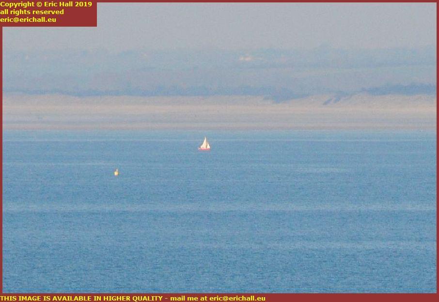 buoy yacht donville les bains brehal plage granville manche normandy france