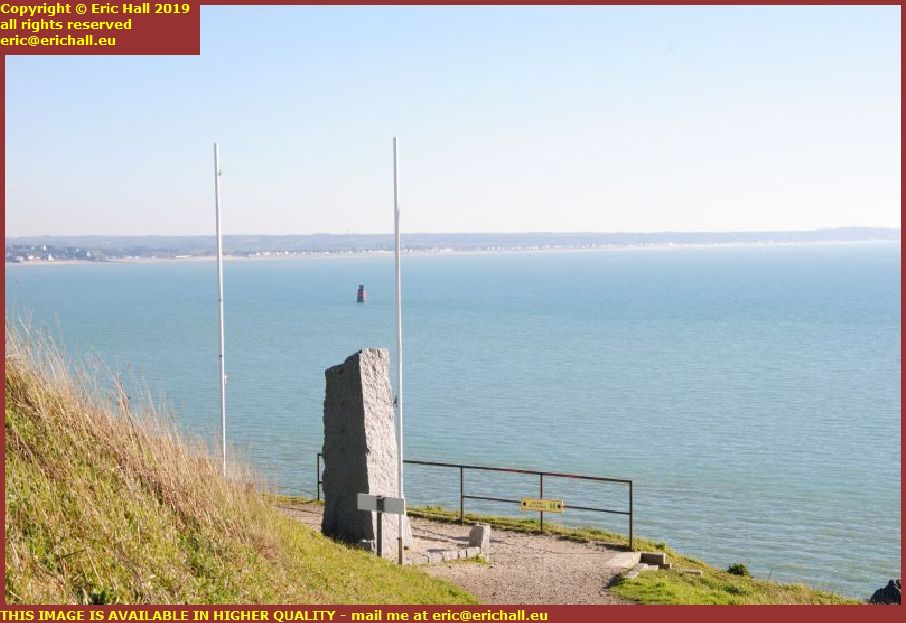 lifeboat memorial port entrance marker light baie de mont st michel st pair sur mer granville manche normandy france