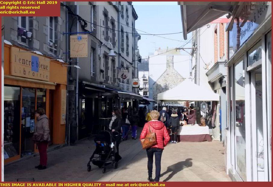 market rue saint saveur granville manche normandy france