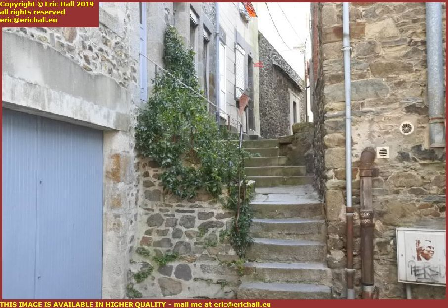 steps rue saint saveur granville manche normandy france