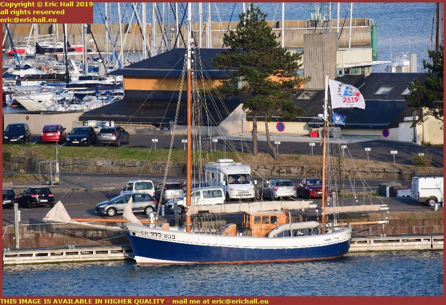 charles marie port de granville harbour manche normandy france