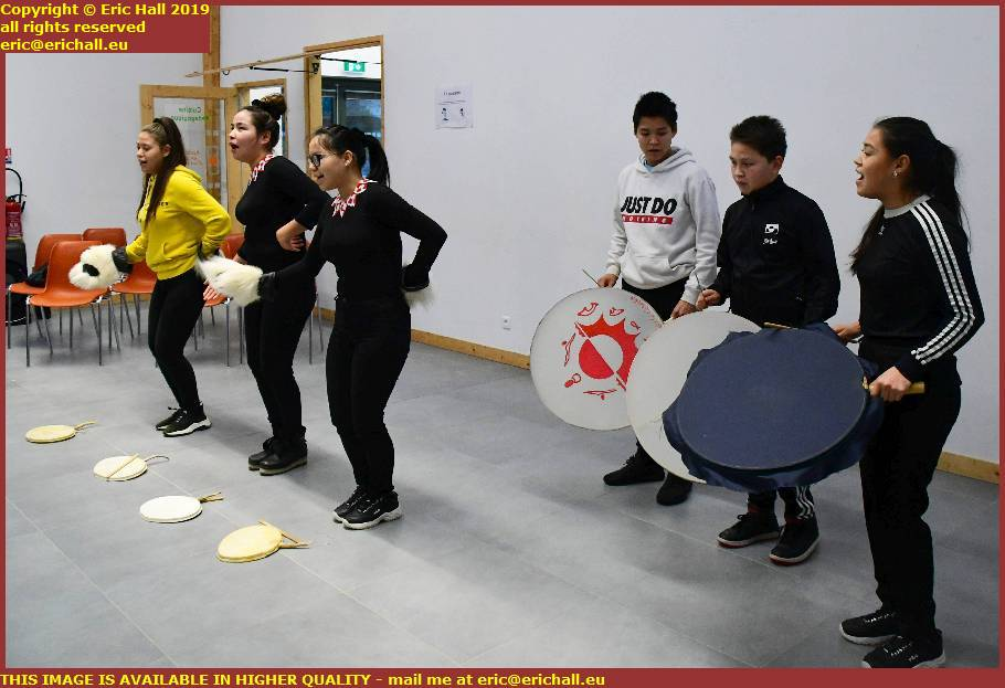 drum dancing girls from orphanage uummannaq music dancing granville manche normandy france