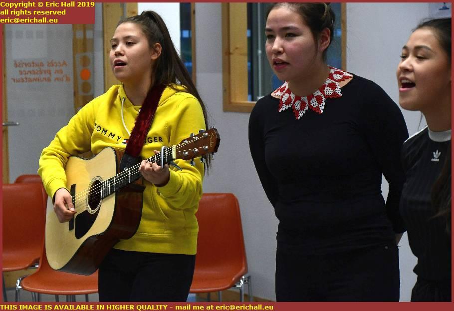 girls from orphanage uummannaq music dancing granville manche normandy france