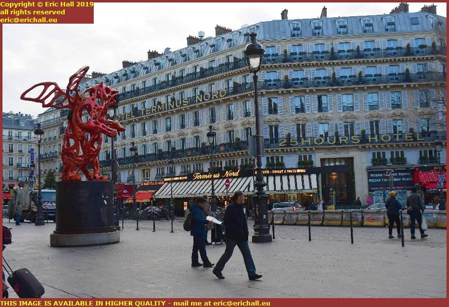 hotel terminus nord rue de dunkerque paris france