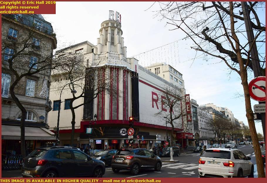 art deco building rex studios boulevard Poissonnière  paris france